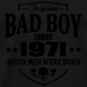 Bad Boy Since 1971 - Herre premium T-shirt