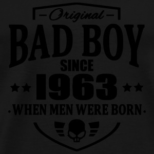Bad Boy Since 1963 - Premium T-skjorte for menn