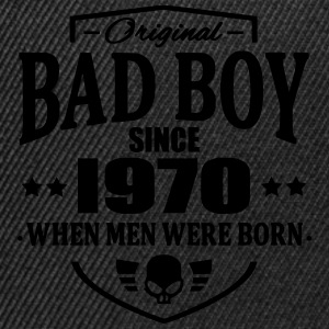 Bad Boy Since 1970 - Snapback-caps