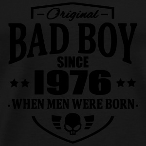 Bad Boy Since 1976 - Premium T-skjorte for menn