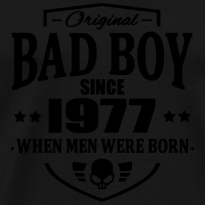 Bad Boy Since 1977 - Premium T-skjorte for menn