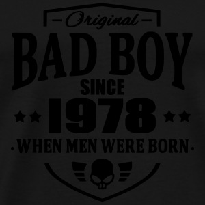 Bad Boy Since 1978 - Herre premium T-shirt