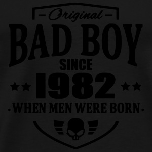 Bad Boy Since 1982 - Mannen Premium T-shirt