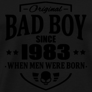 Bad Boy Since 1983 - Herre premium T-shirt