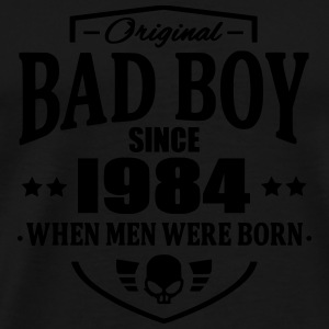 Bad Boy Since 1984 - Mannen Premium T-shirt