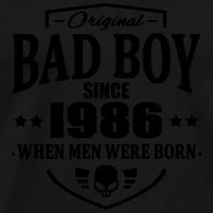 Bad Boy Since 1986 - Premium T-skjorte for menn