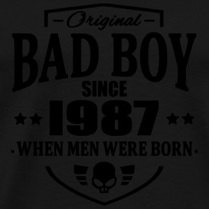 Bad Boy Since 1987 - Herre premium T-shirt