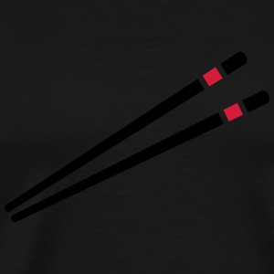 Chopsticks  Long sleeve shirts - Men's Premium T-Shirt