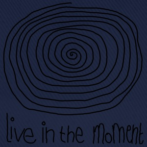 Live In The Moment T-shirts - Baseballkasket