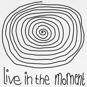 Live In The Moment T-shirts - Basebollkeps