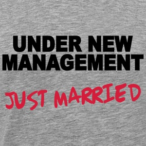 Under new Management - Just married Manches longues - T-shirt Premium Homme