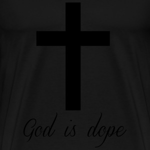 God is  Sweaters - Mannen Premium T-shirt