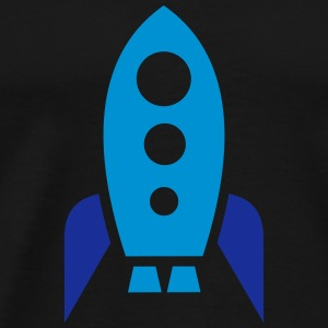 Spaceship Hoodies - Men's Premium T-Shirt