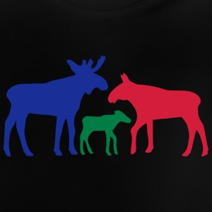 Moose family is Shirts - Baby T-shirt