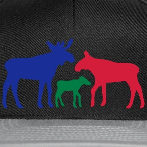 Moose family is  Aprons - Snapback Cap