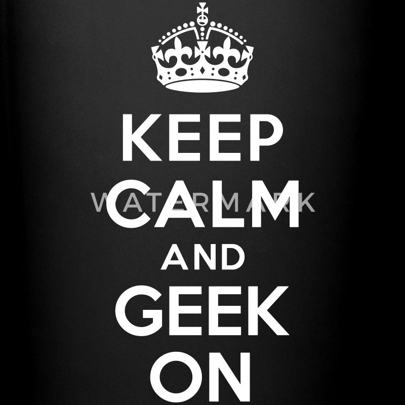 Keep calm and geek on Bouteilles et Tasses - Tasse en couleur