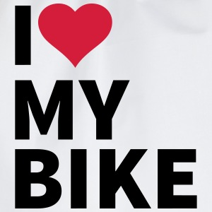 i love my bike T-Shirts - Drawstring Bag