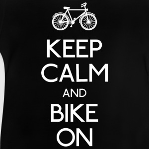 keep calm bike hålla lugn cykel T-shirts - Baby-T-shirt