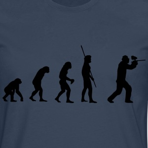 Evolution Paintball T-shirts - Herre premium T-shirt med lange ærmer