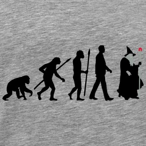 evolution_of_man_wizard_112014_b_3c Accessoires - Männer Premium T-Shirt