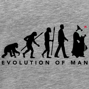 evolution_of_man_wizard_112014_a_3c Accessoires - Männer Premium T-Shirt