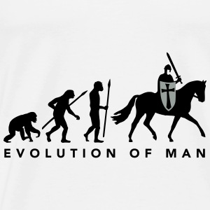 evolution_of_man_knight_112014_a_2c Accessoires - Männer Premium T-Shirt