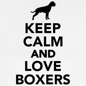 Keep calm and love Boxers Tassen & Zubehör - Baseballkappe