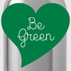 Be Green T-Shirts - Trinkflasche