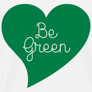 Be Green Toppar - Premium-T-shirt herr
