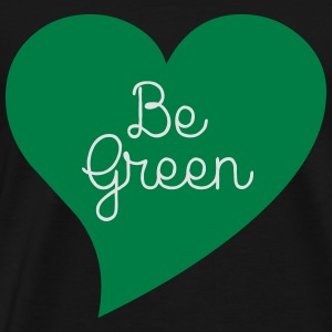 Be Green Gensere - Premium T-skjorte for menn