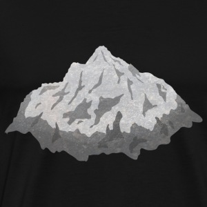mountains bjerge Sweatshirts - Herre premium T-shirt