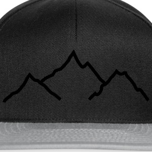 mountains T-Shirts - Snapback Cap
