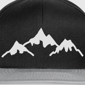 mountains montagnes Sweat-shirts - Casquette snapback