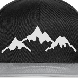 mountains bjerge T-shirts - Snapback Cap