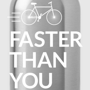 Faster than you T-shirts - Vattenflaska