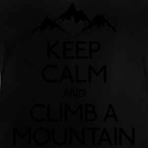 keep calm mountain hålla lugn berg T-shirts - Baby-T-shirt