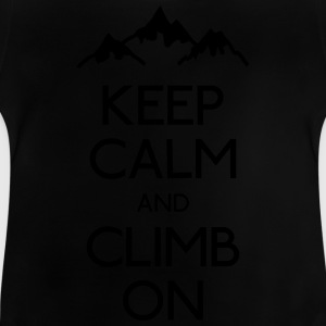 keep calm rock climbing Shirts - Baby T-Shirt