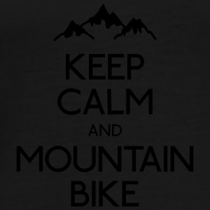 keep calm mountain bike Bags & Backpacks - Men's Premium T-Shirt