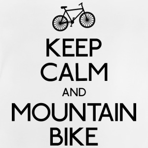 keep calm mountain bike hålla lugn mountainbike T-shirts - Baby-T-shirt