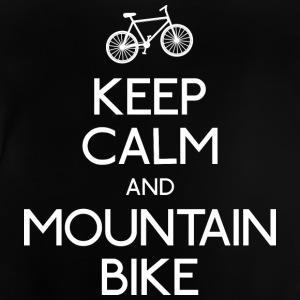 Keep Calm mountain bike T-Shirts - Baby T-Shirt