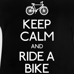 keep calm bike T-shirts - Baby-T-shirt