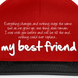 My best friend (dark) Tee shirts - Casquette snapback
