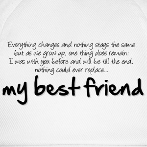 My best friend T-Shirts - Baseball Cap