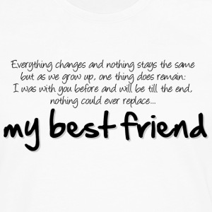 My best friend T-Shirts - Men's Premium Longsleeve Shirt