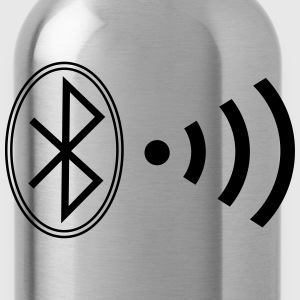 bluetooth_wifi_bw7 T-shirts - Drinkfles