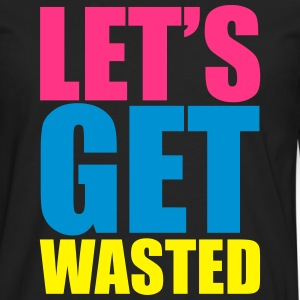 Let's Cat Wasted  Tee shirts - T-shirt manches longues Premium Homme