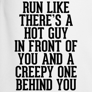 Run Like Hot Guy In Front  T-shirts - Mannen voetbal shorts