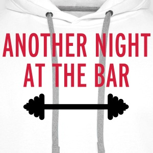 Another Night At The Bar T-Shirts - Men's Premium Hoodie