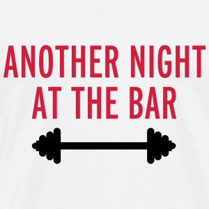 Another Night At The Bar Tröjor - Premium-T-shirt herr