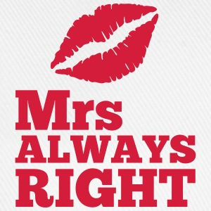 Mrs Always Right Hoodies & Sweatshirts - Baseball Cap